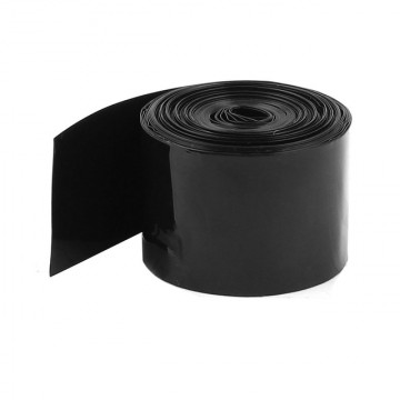 Θερμοσυστελλόμενο PVC 25mm Μαυρο/1 μετρο